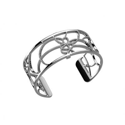 Buy Les Georgettes Medium Silver CZ Petales Cuff