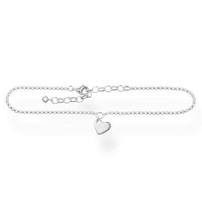 Buy Thomas Sabo Heart Silver Anklet