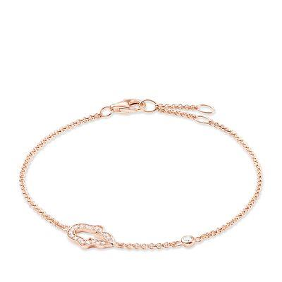 Buy Thomas Sabo Fatima's Hand Rose Gold Bracelet