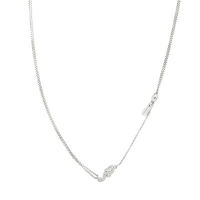 Buy Alex and Ani Seahorse Precious Pull Chain Necklace in Silver