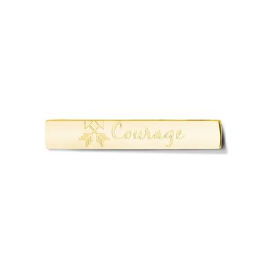 Buy Take What You Need Gold Toned Courage Bar