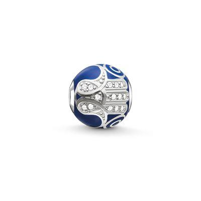 Buy Thomas Sabo Blue Hand of Fatima Karma Bead