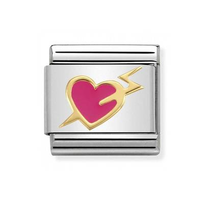 Buy Nomination Pink Heart Lightning