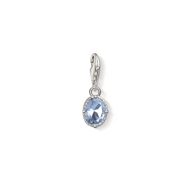Buy Thomas Sabo Oval Blue CZ Charm