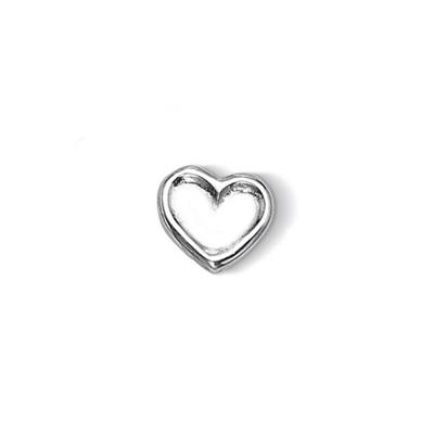 Buy Dower and Hall Silver Small Dimple Heart Treasure
