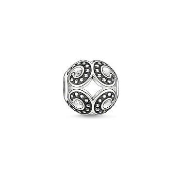 Buy Thomas Sabo Powerful Wave Silver Karma Bead