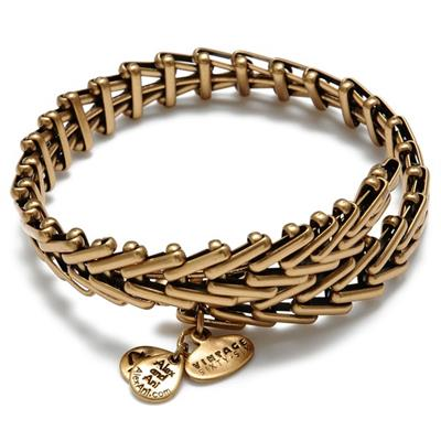 Buy Alex and Ani Gypsy 66 in Rafaelian Gold Finish
