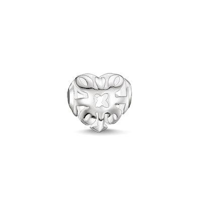 Buy Thomas Sabo Silver Arabesque Heart Karma Bead