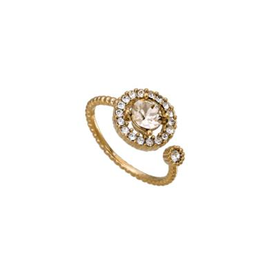 Buy Lily and Rose Miranda Gold Light Silk Ring
