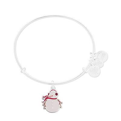 Buy Alex and Ani UNICEF Charity Snowman Bangle in Shiny Silver