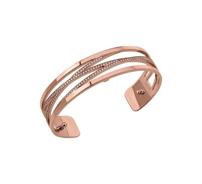 Buy Les Georgettes Slim Rose Gold CZ Liens Cuff