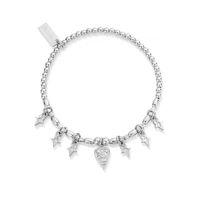 Buy ChloBo Silver Seven Days of Luck Bracelet