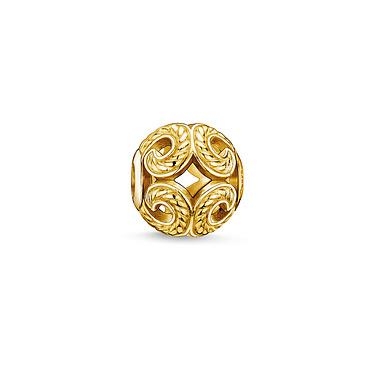 Buy Thomas Sabo Waves Yellow Gold Karma Bead