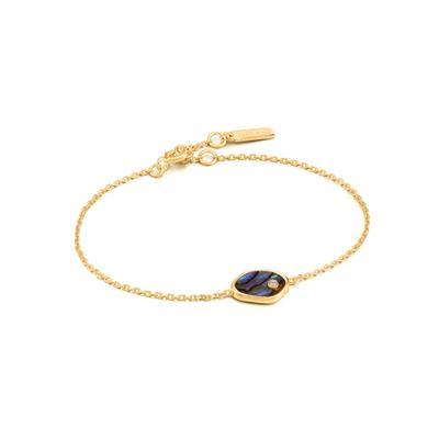 Buy Ania Haie Turning Tides Abalone & Gold Bracelet
