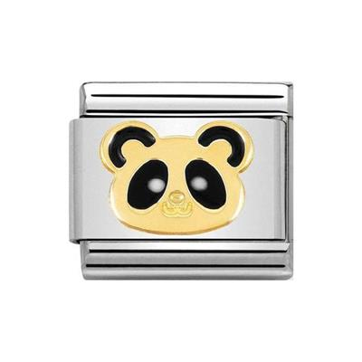 Buy Nomination Classic Gold Animals of Earth Panda Head Charm