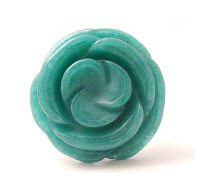 Buy Lola Rose Mirabel Dark Deal Teal Ring - Large