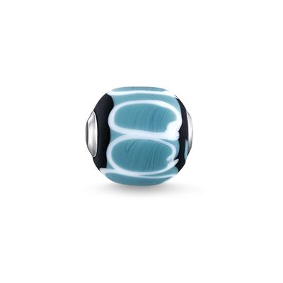 Buy Thomas Sabo Black Turquoise Glass Bead