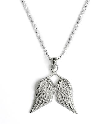 Buy Tales From The Earth Guardian Angel Wing Necklace