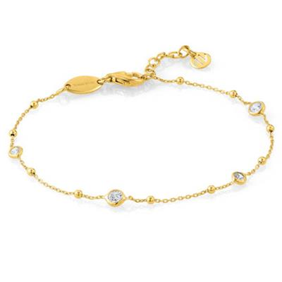 Buy Nomination Stone Set Bella Bracelet in Yellow Gold