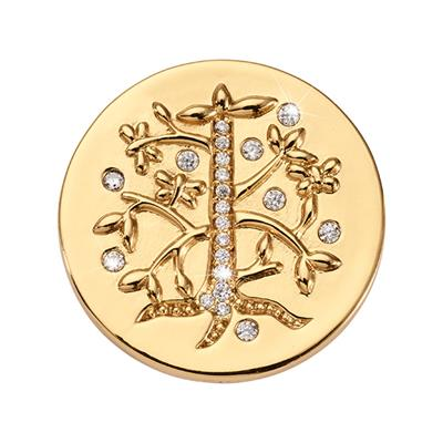 Buy Nikki Lissoni Gold Tree of Life Small Coin 23mm