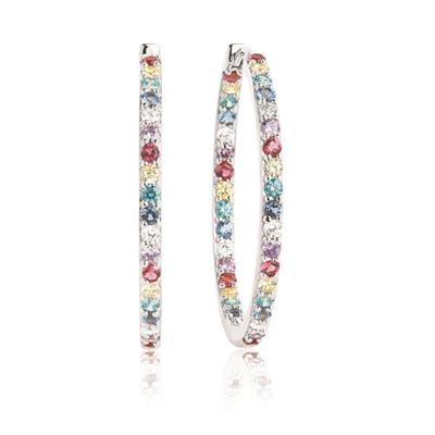 Buy Sif Jakobs Silver Bovalino Big Hoops