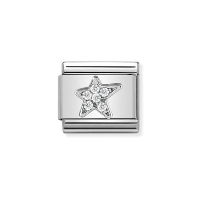 Buy Nomination SilverCZ Asymmetric Star