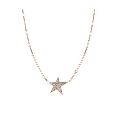 Buy Nomination Rose Gold CZ Star Necklace
