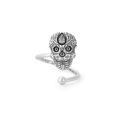Buy Alex and Ani Calavera Precious Wrap Ring in Sterling Silver