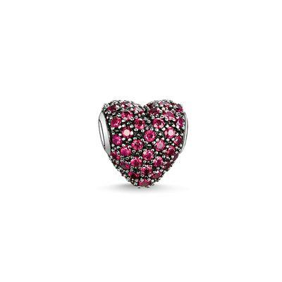 Buy Thomas Sabo Red CZ Heart Karma Bead