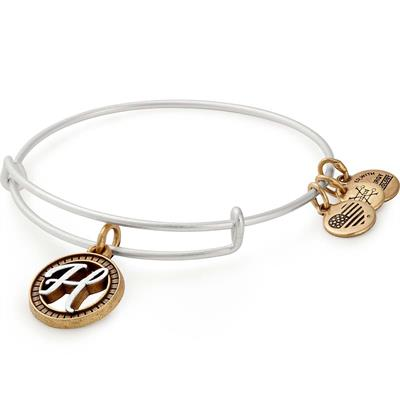 Buy Alex and Ani H Initial Two-Tone Bangle