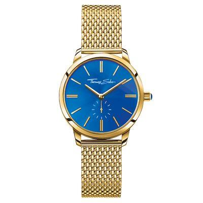Buy Thomas Sabo Women's Blue Gold Glam Spirit Watch