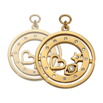 Buy Nikki Lissoni Gold Best Kept Secret Earring Coins