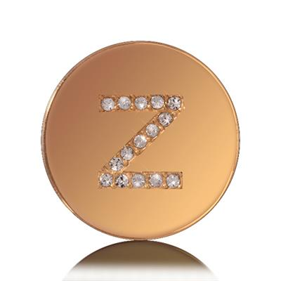 Buy Nikki Lissoni Letter Z Small Gold Coin