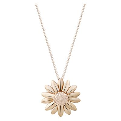Buy Rose Gold 25mm Daisy Vintage Necklace