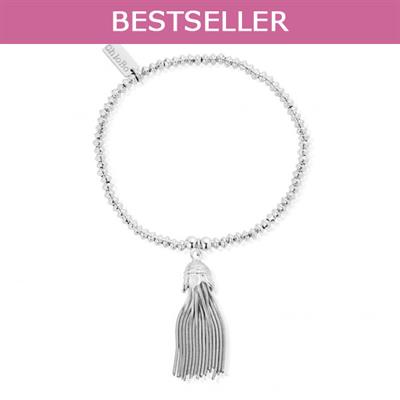 Buy ChloBo Mini Disc Tassel Bracelet