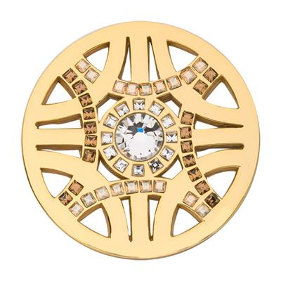 Buy Nikki Lissoni Gold Swarovski Royal Chic Coin 33mm