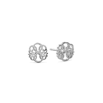 Buy Alex and Ani Path of Life Precious Studs in Silver