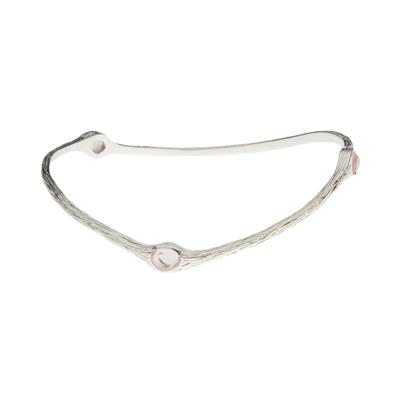 Buy Lifes Journey Small Rose Quartz Love Bangle
