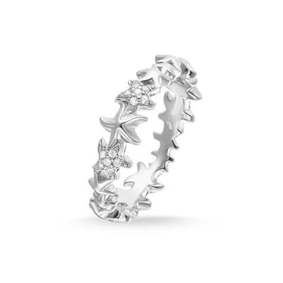 Buy Thomas Sabo CZ Starfish Ring 52