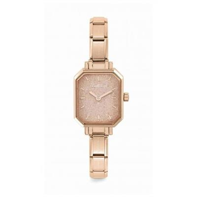 Buy Nomination Rose Gold Glitter Watch