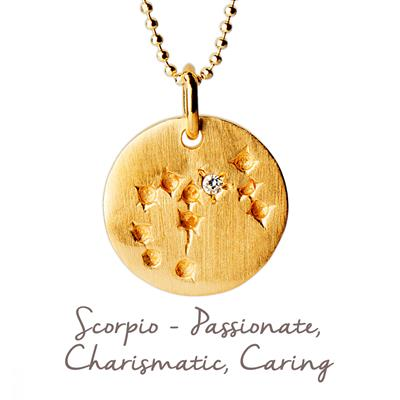 Buy Mantra Scorpio Star Map in Gold