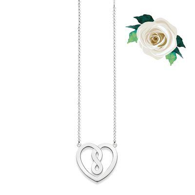 Buy Thomas Sabo GLAM&SOUL Infinity Heart Necklace in Silver