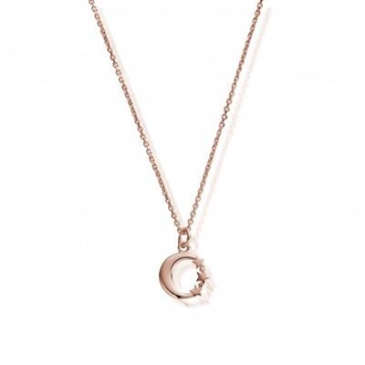Buy ChloBo Dainty Night Sky Necklace in Rose Gold