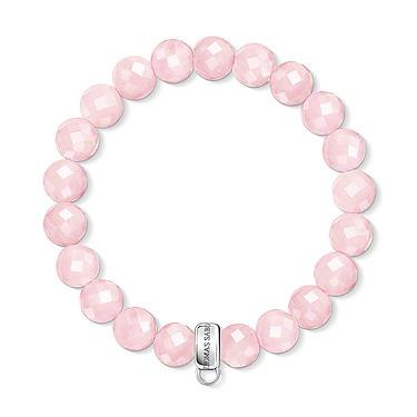 Buy Thomas Sabo Mini Rose Quartz Medium Charm Bracelet
