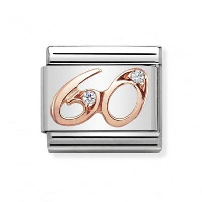 Buy Nomination Rose Gold CZ 60
