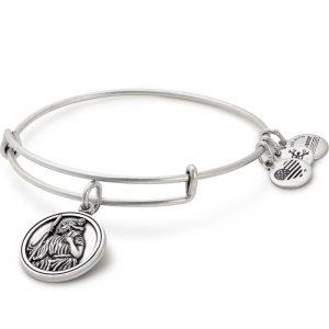 Buy Alex and Ani Saint Christopher Bangle In Rafaelian Silver