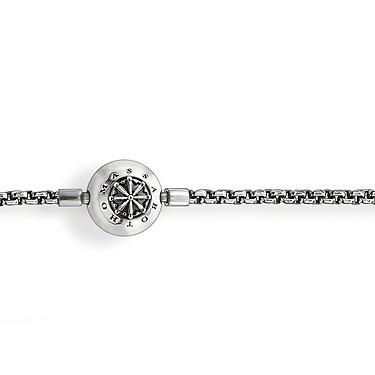 Buy Thomas Sabo Karma Bead Oxidized Silver Necklace 80cm