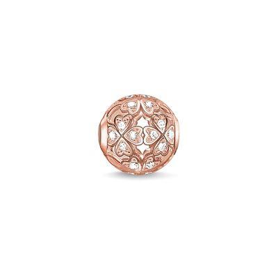 Buy Thomas Sabo Four Leaf Clover Rose Gold Karma Bead