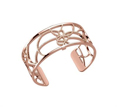 Buy Les Georgettes Rose Gold CZ Petales Medium Cuff