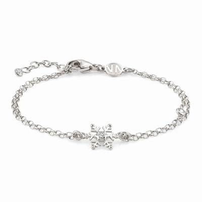 Buy Nomination Silver CZ Small Snowflake Bracelet
